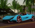 Specter Roadster 2013 for GTA San Andreas inside view