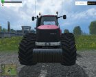 Case IH Magnum 380 Dynamic Rear Twin Wheels v1.1 for Farming Simulator 2015 left view
