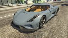 2015 Koenigsegg Regera for GTA 5 left view
