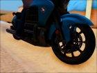 Honda Valkyrie GL1800C 2015 для GTA San Andreas вид сзади