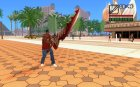 Sword of Halisha для GTA San Andreas вид сзади слева