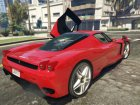 Ferrari Enzo 5.0 for GTA 5 rear-left view