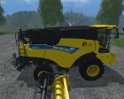 New Holland CR9.90 Yellow for Farming Simulator 2015 top view