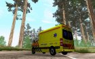 Mercedes-Benz Sprinter Ambulance для GTA San Andreas вид сверху