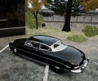 Hudson Hornet Club Coupe для GTA 4 вид сверху