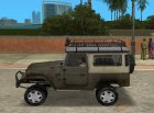 Toyota Land Cruiser FJ40 for GTA Vice City left view