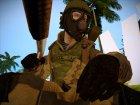 Униформа медика РФ из WarFace для GTA San Andreas вид сверху