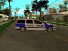 Volvo v70 Swedish Police для GTA San Andreas вид слева