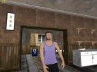 Skin HD GTA V Online парень с белыми глазами для GTA San Andreas вид сверху