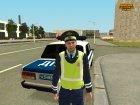 Пак сотрудников Полиции и ДПС for GTA San Andreas rear-left view