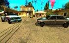 Авто мастер для GTA San Andreas вид сзади слева