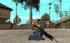 M16 с подствольным гранатомётом M203 for GTA San Andreas rear-left view