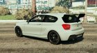 2013 BMW M135i для GTA 5 вид слева