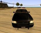 Ford Crown Victoria Police Interceptor для GTA San Andreas вид сбоку