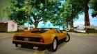 Ferrari 512 GT4 BB 1976 для GTA San Andreas вид изнутри