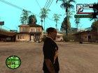 "Футболка с знаком зодиака ""Телец"" для GTA San Andreas вид сзади слева"
