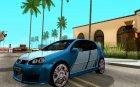 Volkswagen Golf V GTI for GTA San Andreas back view