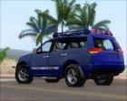 Mitsubishi Pajero Sport Dakar Offroad Version 2014 for GTA San Andreas top view