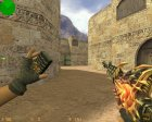 M4A1 Тёмный рыцарь для Counter-Strike 1.6 вид изнутри