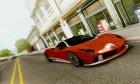 Pegassi Osiris GTA V для GTA San Andreas вид сзади слева
