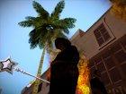 """Магический серебряный посох """"Доброй Розовой Феи"""" - повелительницы шальных единорогов for GTA San Andreas top view"""