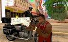 Trigun gun for GTA San Andreas left view