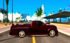 Dodge Dakota tuning для GTA San Andreas вид изнутри