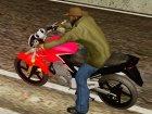 Honda Twister CBX 250 2014 для GTA San Andreas вид сбоку