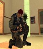 Беркут (украинский ОМОН) для GTA San Andreas вид сверху