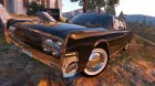 Lincoln Continental Sedan 1962 2.0 for GTA 5 top view