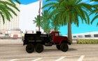 ЗиЛ 131 Топливозаправщик для GTA San Andreas вид изнутри
