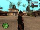 "Футболка с знаком зодиака ""Скорпион"" for GTA San Andreas rear-left view"