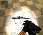 M24 IIopn animation для Counter-Strike Source вид слева