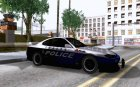 Nissan Silvia S15 Police for GTA San Andreas top view
