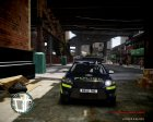 Ford Mondeo Estate police UK для GTA 4 вид изнутри