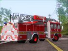 E-One Quint Rearmount SACFD Ladder 49 для GTA San Andreas вид сверху