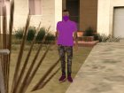 Ballas1 GTA Online Style for GTA San Andreas left view