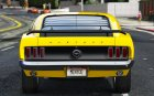 1969 Ford Mustang Boss 302 1.0 for GTA 5 top view