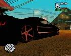 Lamborghini Infernus для GTA San Andreas вид сверху