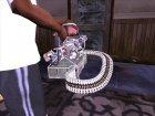 HD Minigun for GTA San Andreas inside view