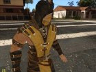 Scoprion from Mortal Kombat X для GTA San Andreas вид сбоку