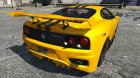 2003 Ferrari 360 Challenge Stradale for GTA 5 left view