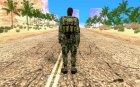 СПЕЦНАЗ из Сталкер Тени Чернобыля OGSE для GTA San Andreas вид сзади слева