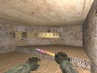 Штык нож М9 Fade для Counter-Strike 1.6 вид слева