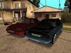 Пак качественных русских и украинских машин для GTA San Andreas вид слева