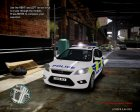 Ford Focus Estate '09 police UK.