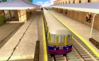Liberty City Train Italian для GTA San Andreas вид сверху