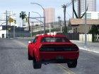 2017 Dodge Challenger Demon для GTA San Andreas вид сверху