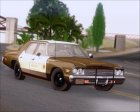Dodge Monaco 1974 RCSD Non Sticktop/No Lights Version для GTA San Andreas вид сзади