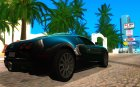 Bugatti Veyron 2005 для GTA San Andreas вид сверху
